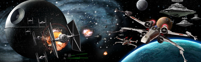 Star Wars Dual Monitor Wallpapers   Album on Imgur 2880x900