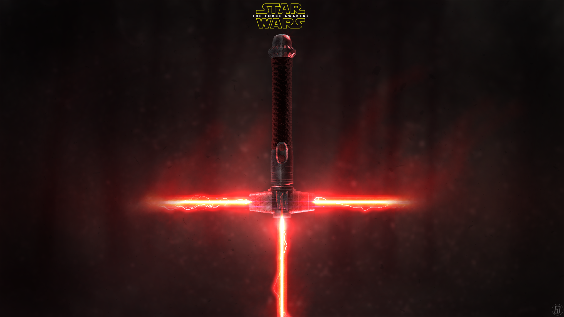 Wars The Force Awakens New Lightsaber by spiritdsgn 1920x1080