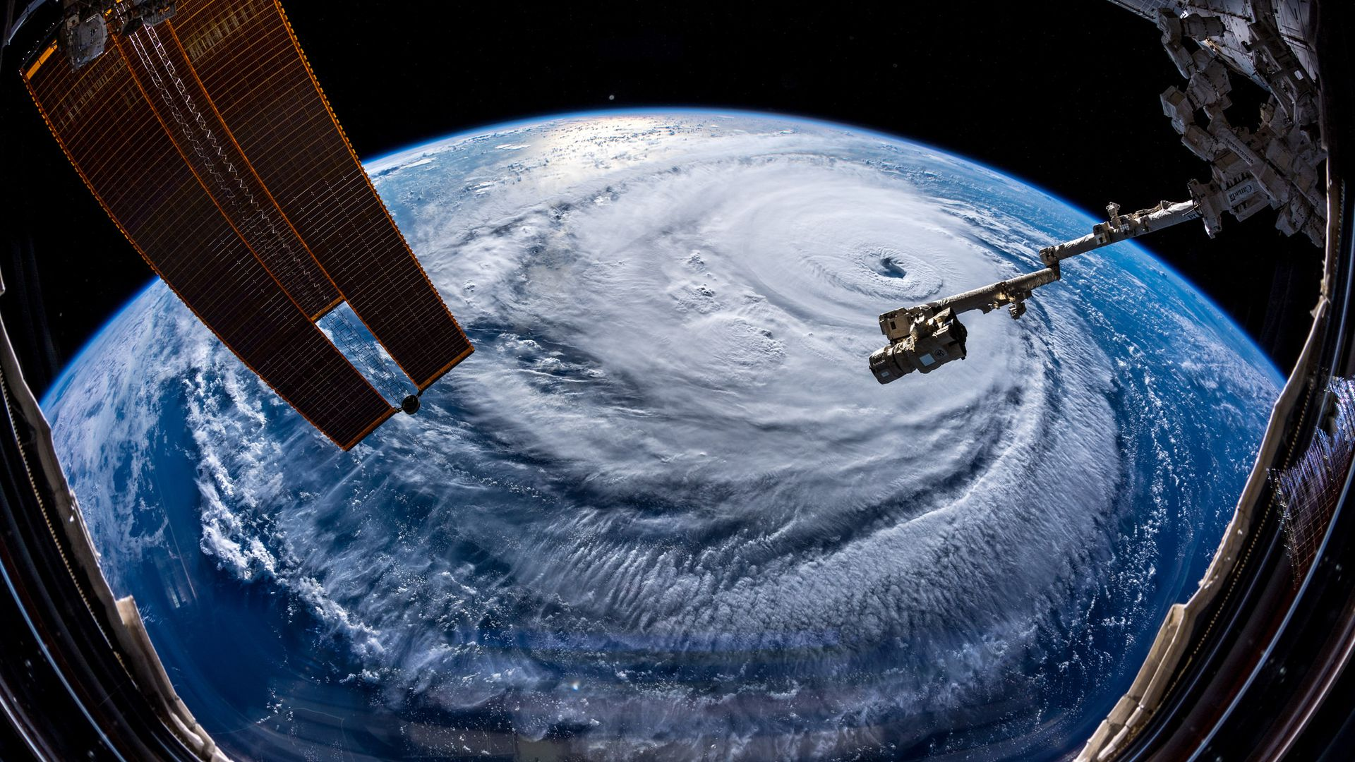 Hurricane Florence Astronaut captures incredible images of the 1920x1080