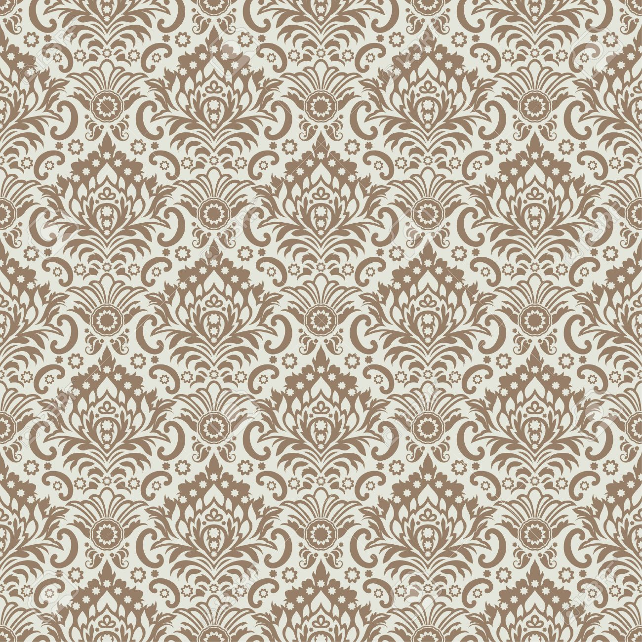 Seamless Classic Wallpaper Background Royalty Cliparts 1300x1300