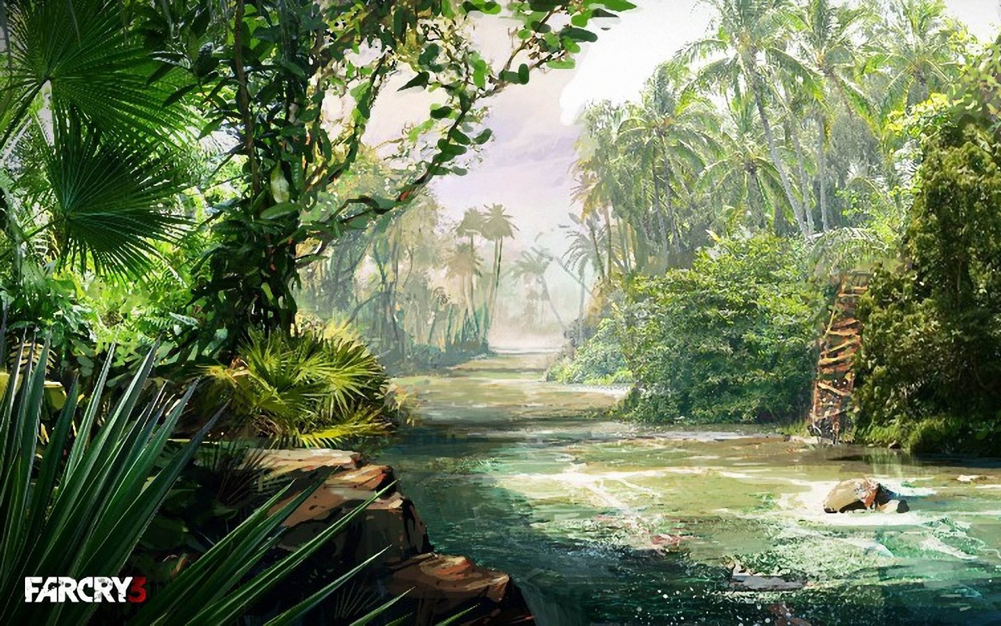 Free Download Far Cry 3 River 1440x900 Wallpapers 1440x900