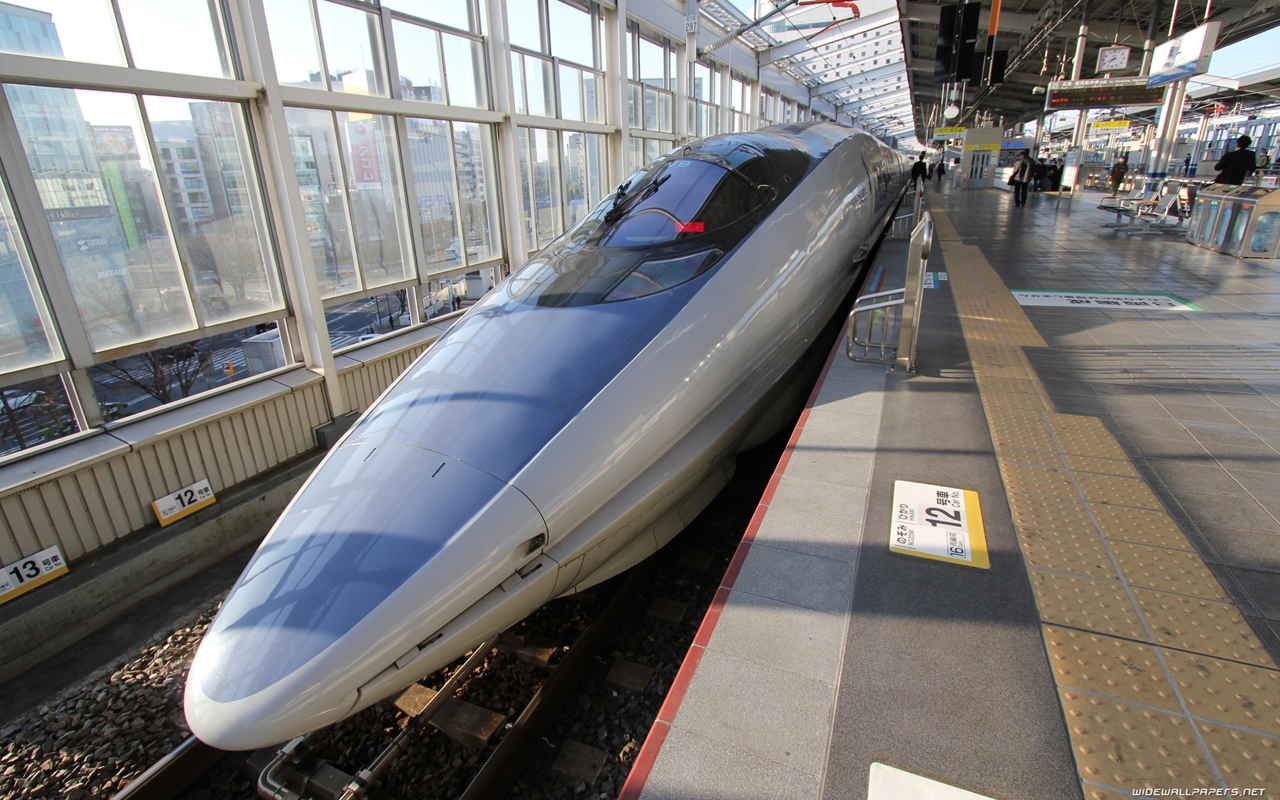Shinkansen Bullet Train   Wallpaper 36372 1280x800