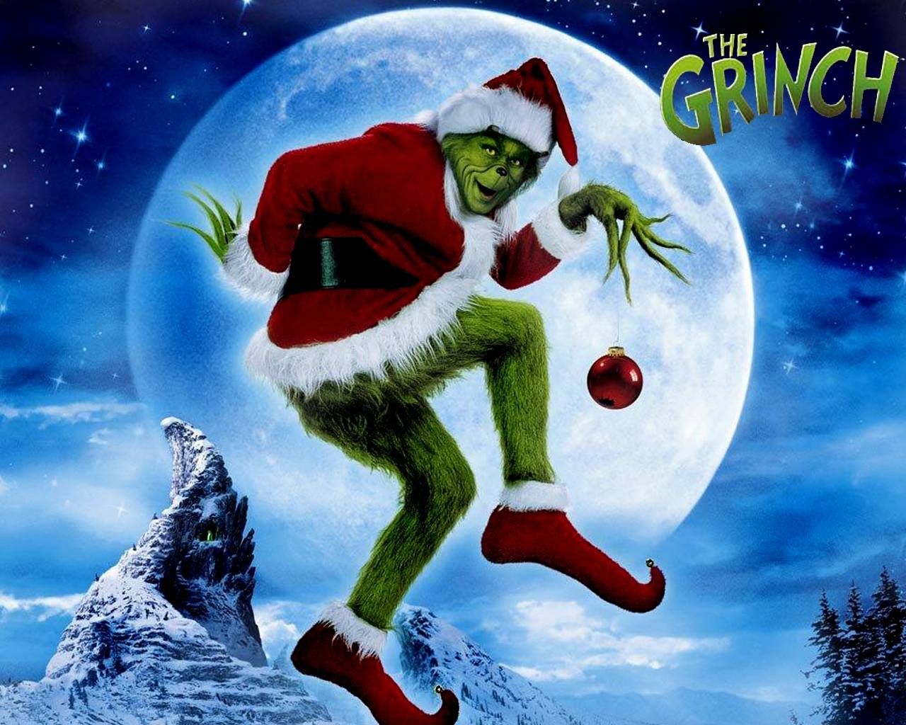 Charlie Brown Christmas or How the Grinch Stole Christmas 1280x1024