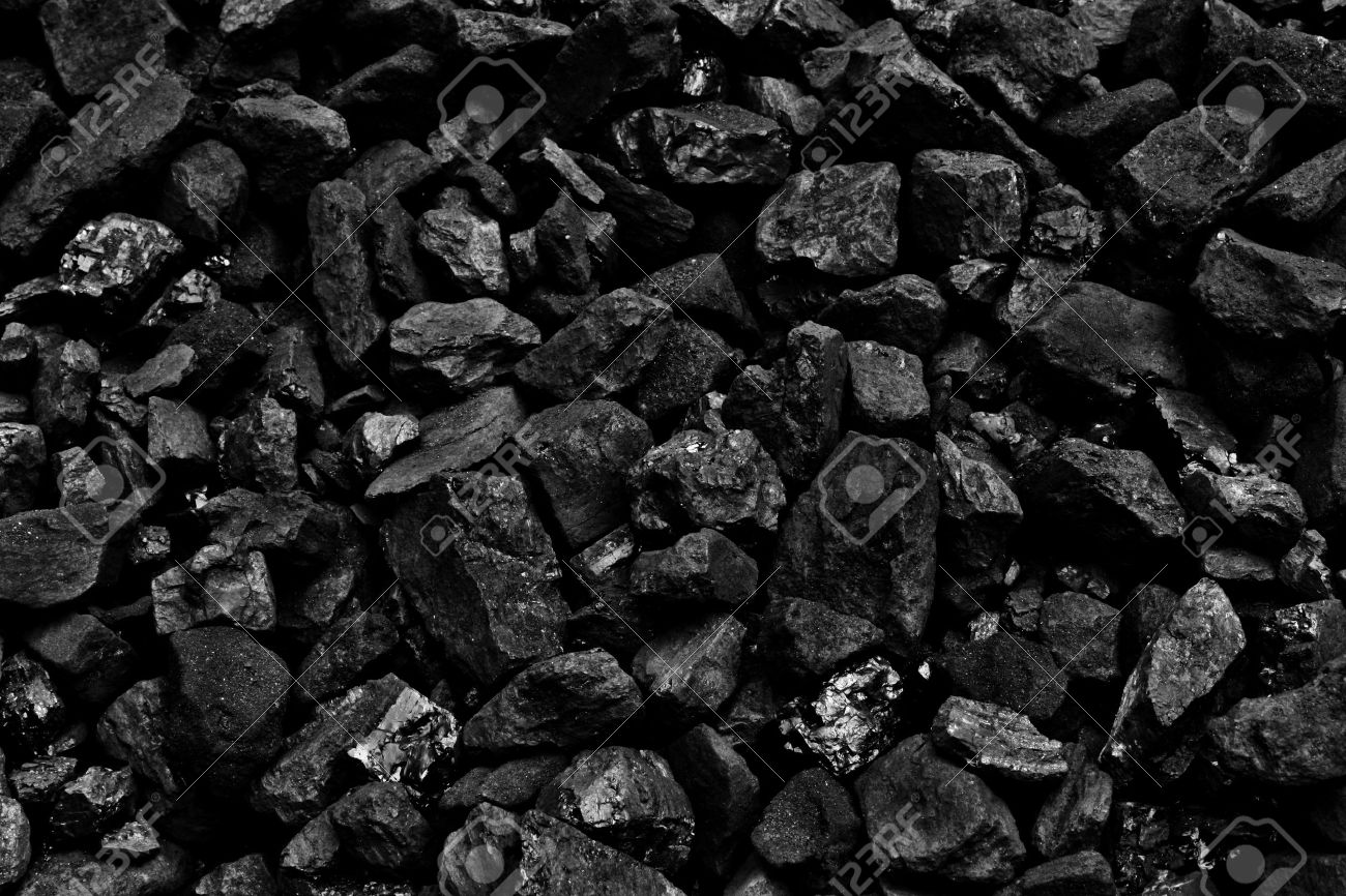 Coal Mine Deposit Mineral Black Cube Stone Background Stock Photo 1300x866