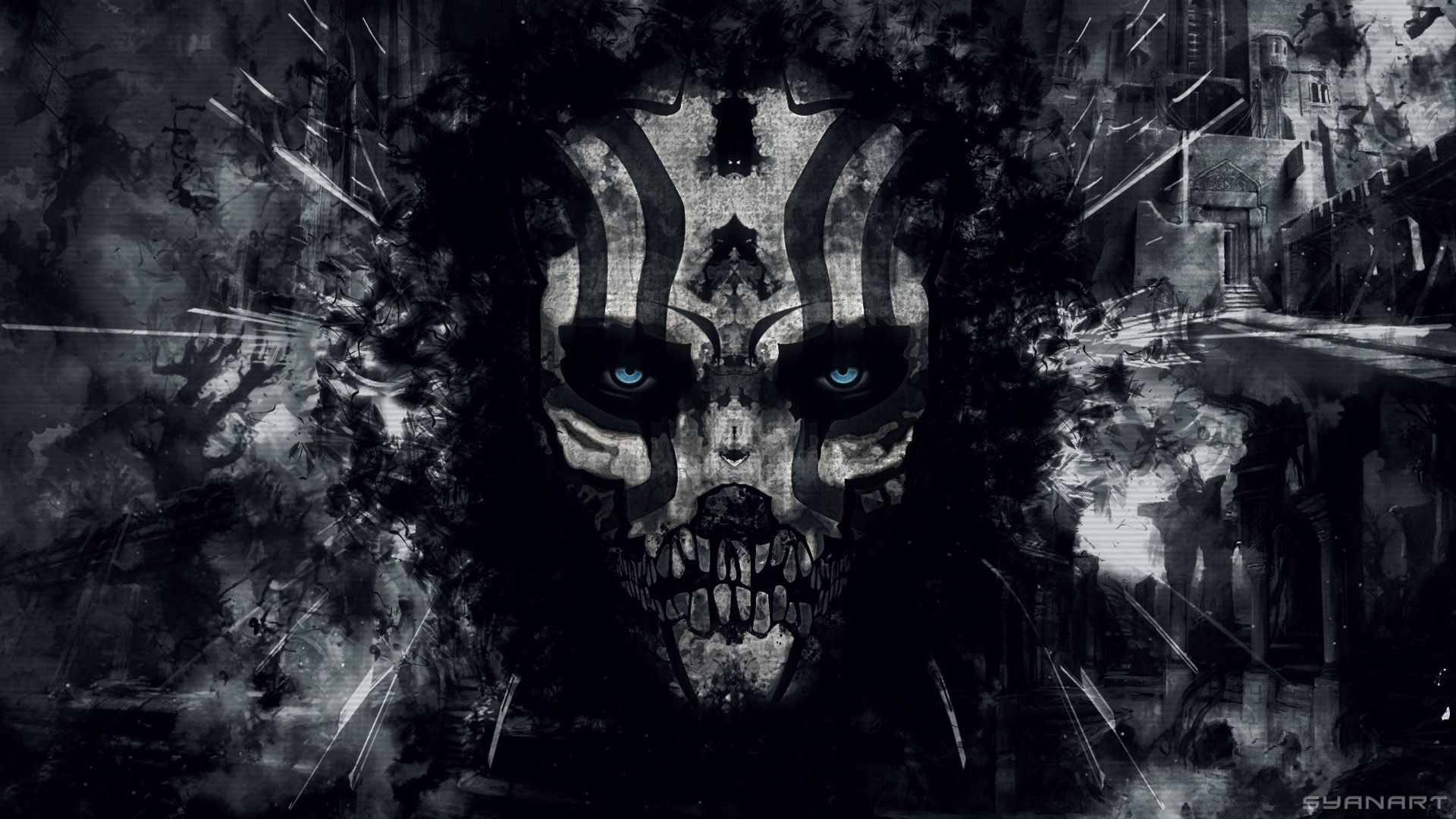 Death Skull Wallpapers   Top Death Skull Backgrounds 1920x1080