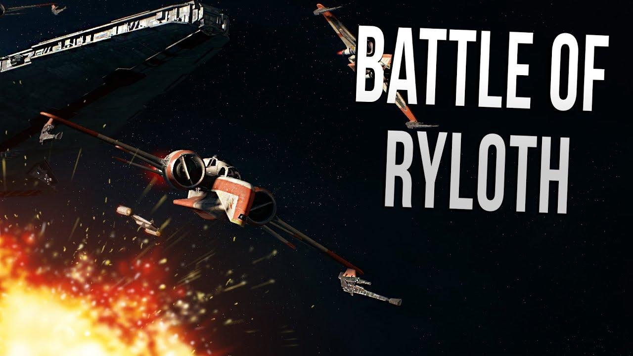 BATTLE OF RYLOTH   Star Wars Battlefront 2 Multiplayer 1280x720