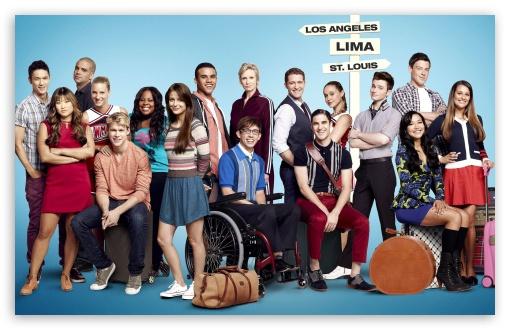 Glee wallpaper 510x330