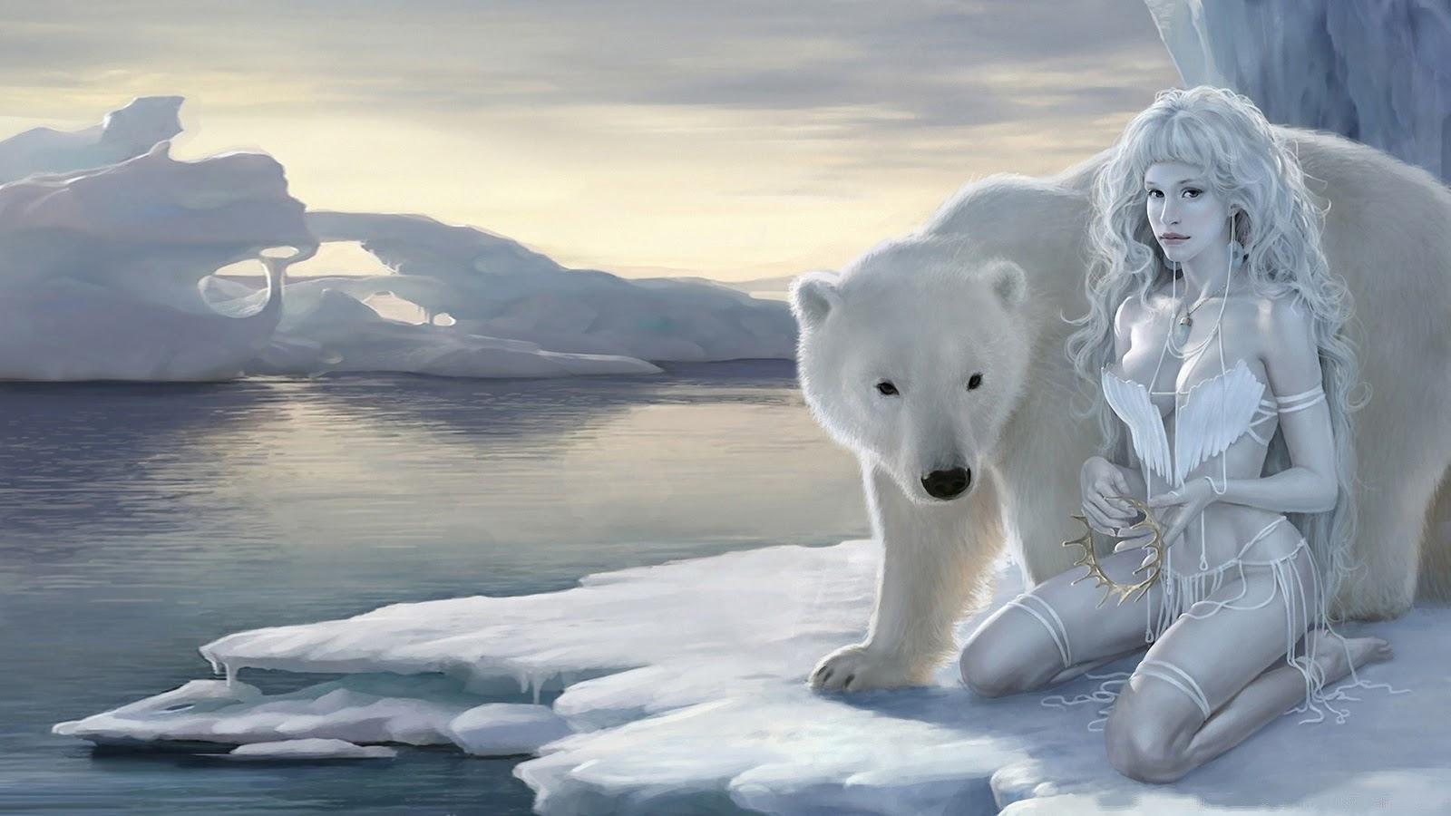 Polar Queen Ice beauty HD Wallpaper 1080p Hd Wallpaper 1600x900
