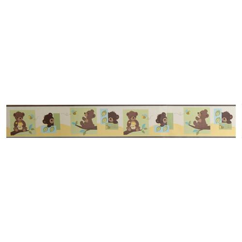 Ivy Bedtime Originals Honey Bear Wallpaper Border   Walmartcom 500x500