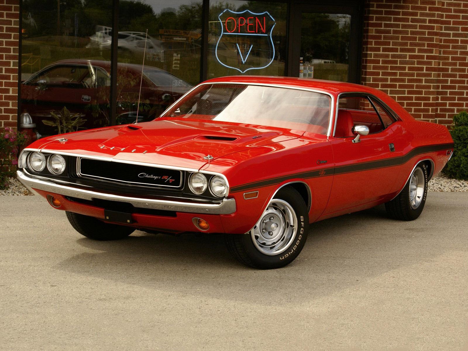 Blides do passado e do presente Dodge Challenger 1970   1974 1600x1200
