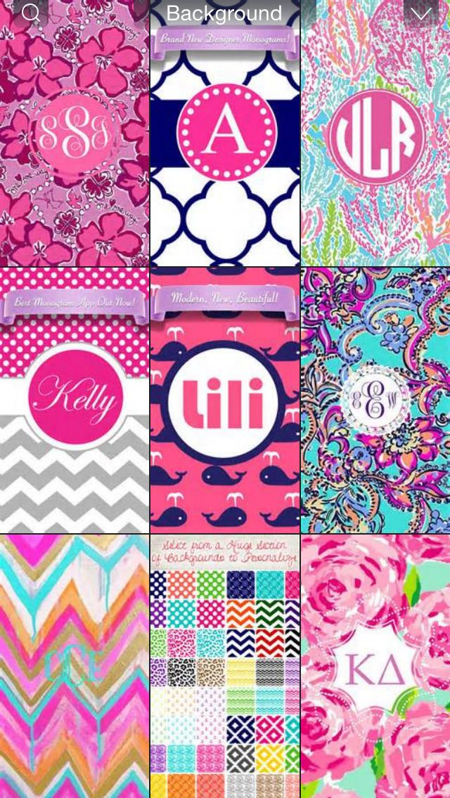 Monogram Wallpapers For IPhone Group 23 640x1136