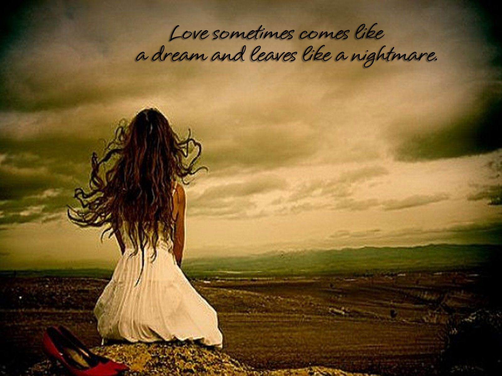 Sad Love Quotes hd Wallpaper in high resolution for Get Sad 1600x1200