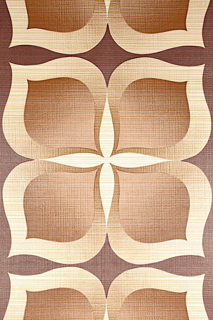 Brown Geometric Wallpaper 683x1024