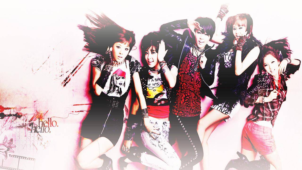 wallpaper for 4minute 2   4Minute Wallpaper 1280x720