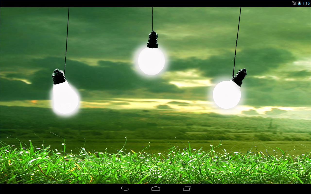 Bulbs In Rain Live Wallpaper Android Apps on Google Play 1280x800