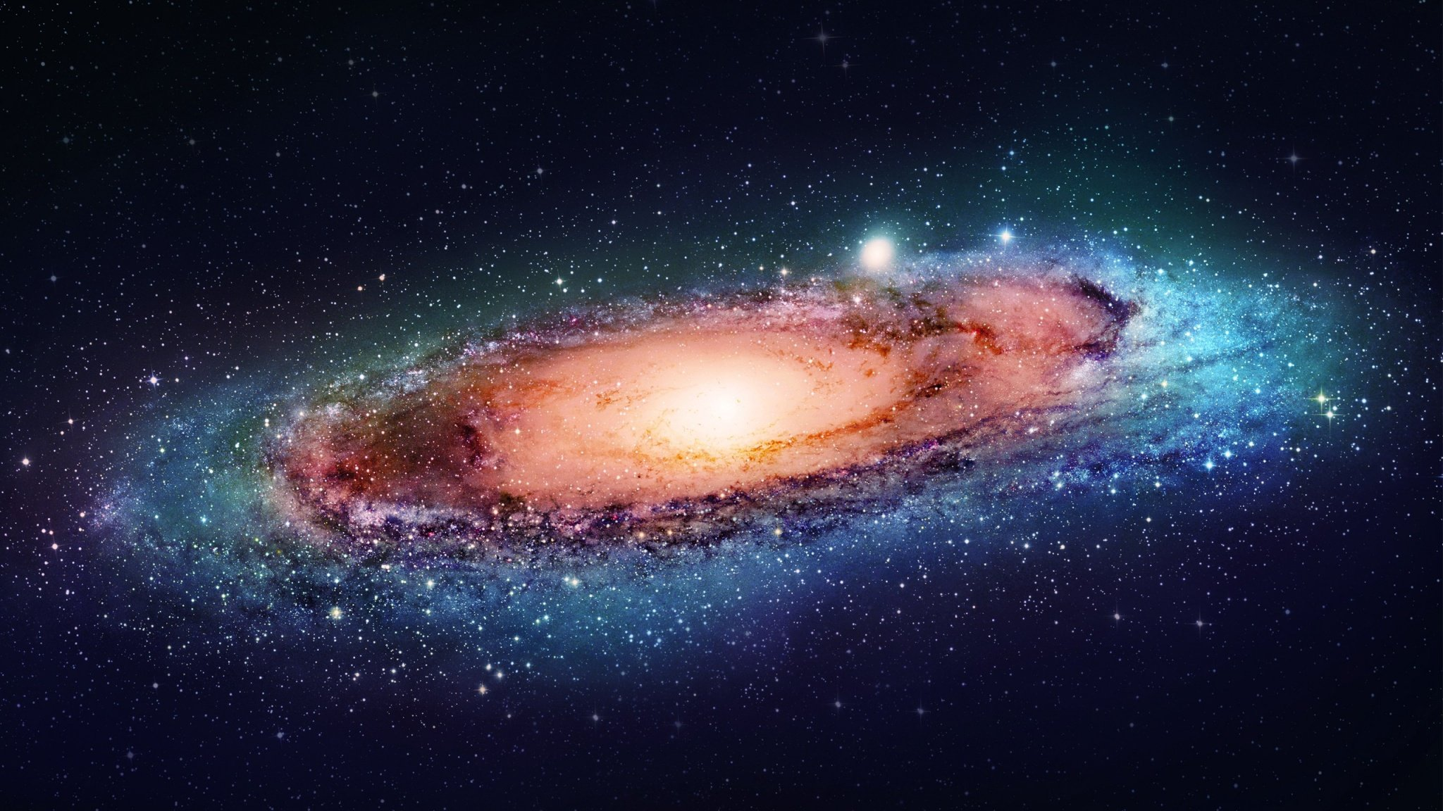 Andromeda Galaxy Space 2048 x 1152 Download Close 2048x1152