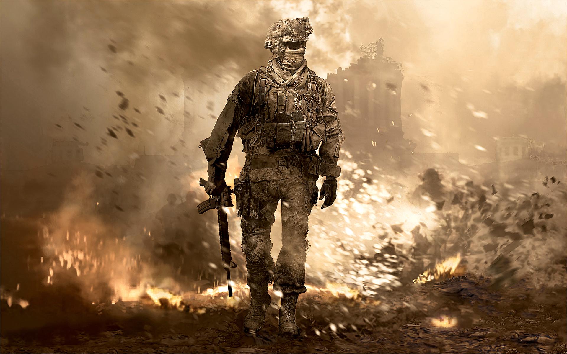 COD modern warfare 2   Call of Duty games Wallpaper 32930753 1920x1200