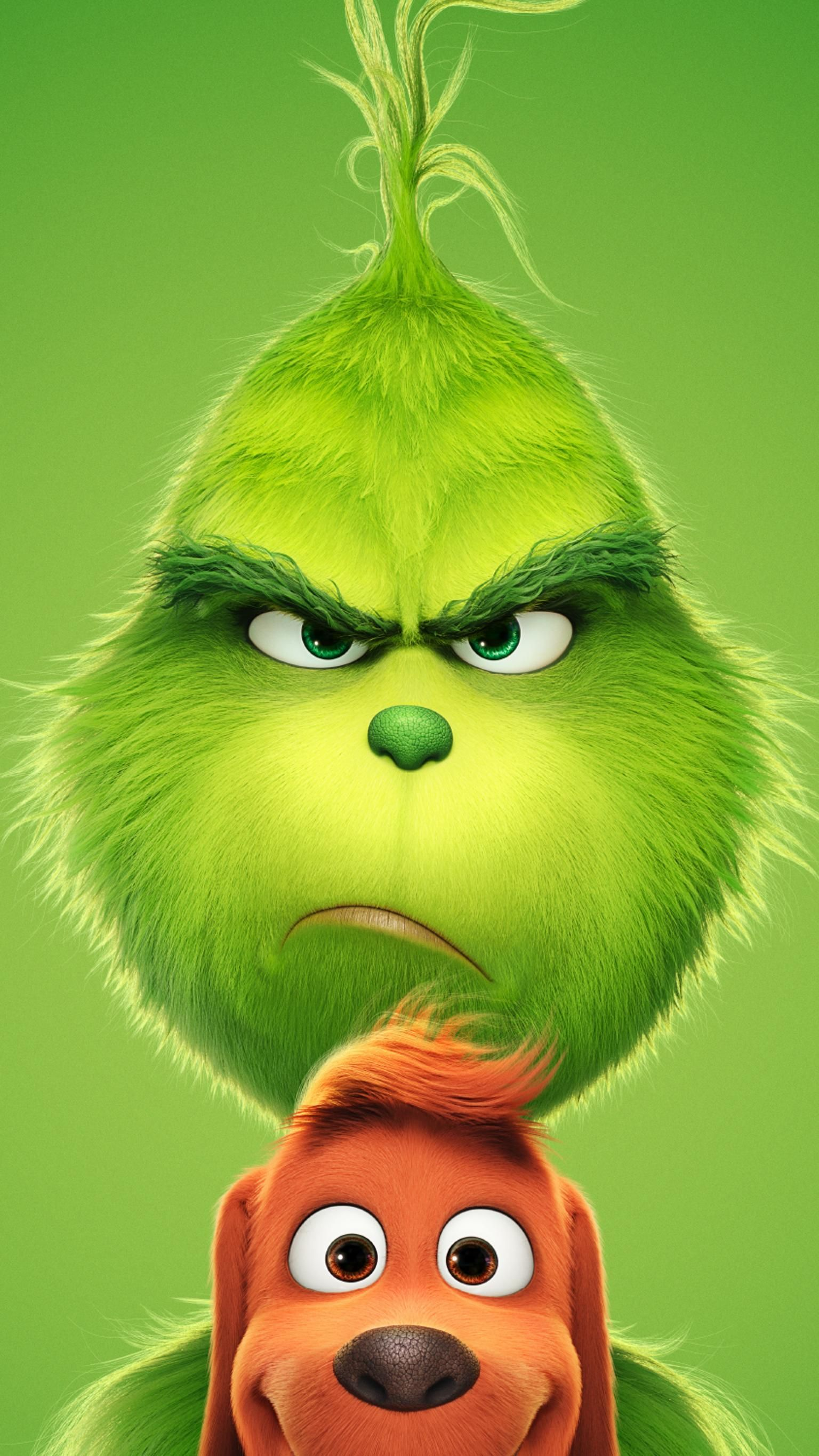 The Grinch 2018 Wallpapers   Top The Grinch 2018 Backgrounds 1536x2732