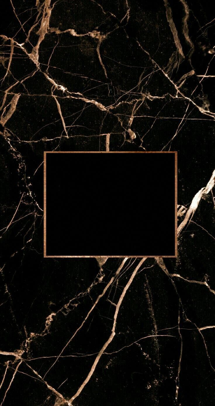 Free Download Black Marble With Rose Gold Foil And A Title Space