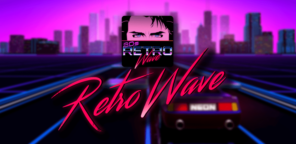 Retrowave Wallpapers PRO Live WallsGIFs Radio v30 Paid APK 1024x500