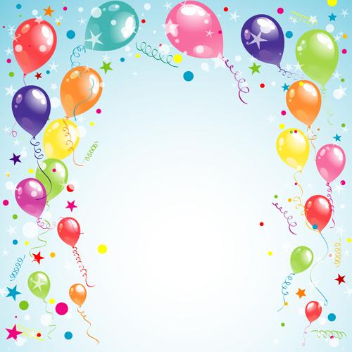 IMAGE birthday balloon backgrounds 500x500