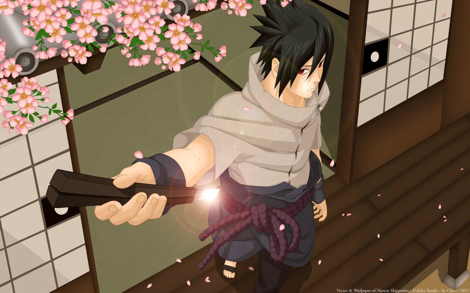 Wallpapers HD Sasuke Uchiha   Naruto Shippuden 1600x1000