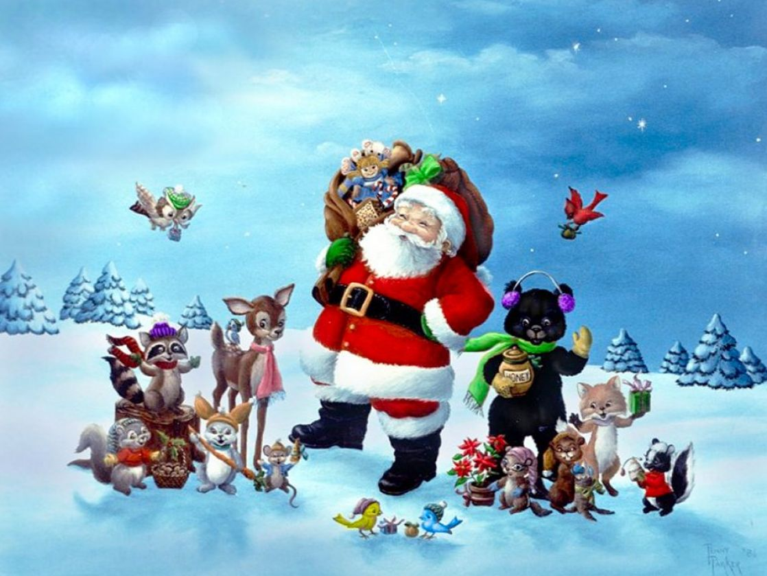 Free christmas screensavers and wallpaper pictures 4