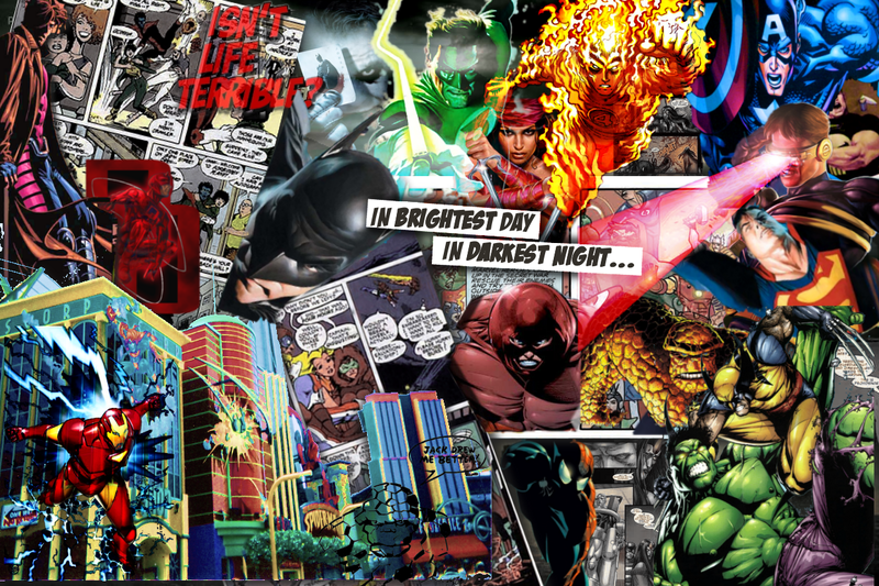 comic book wallpaper wallpapersafari
