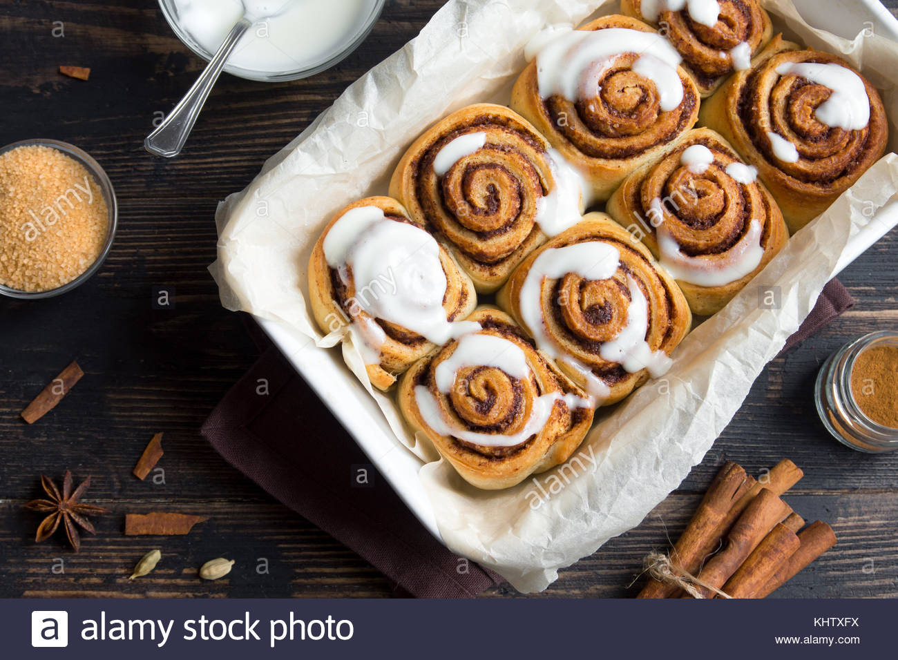 Cinnamon rolls or cinnabon with sauce homemade traditional 1300x956