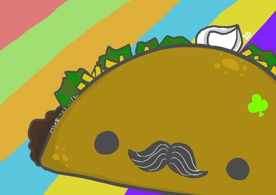 Cute Taco Wallpaper - WallpaperSafari