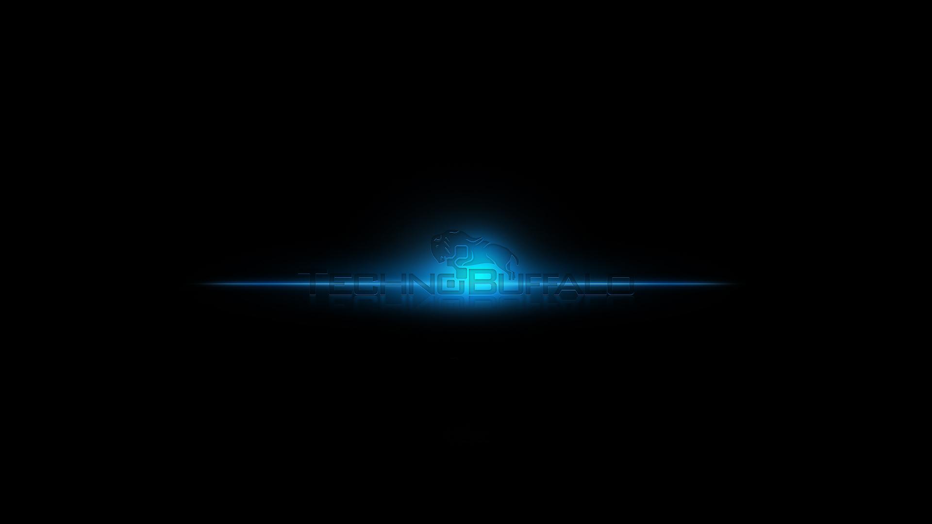 Glow Technobuffalo Wallpaper 1920x1080