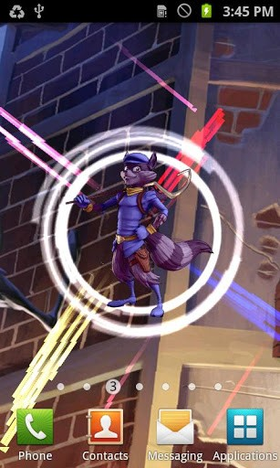 your favorite sly cooper logo to your phone sly cooper live wallpaper 307x512