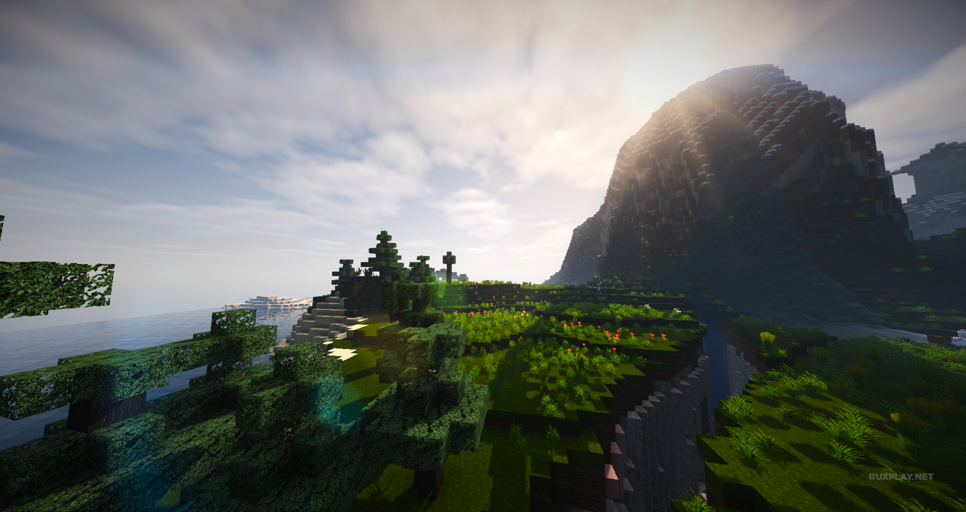 Awesome cinematic Minecraft wallpapers Ruxgeek 1920x1018