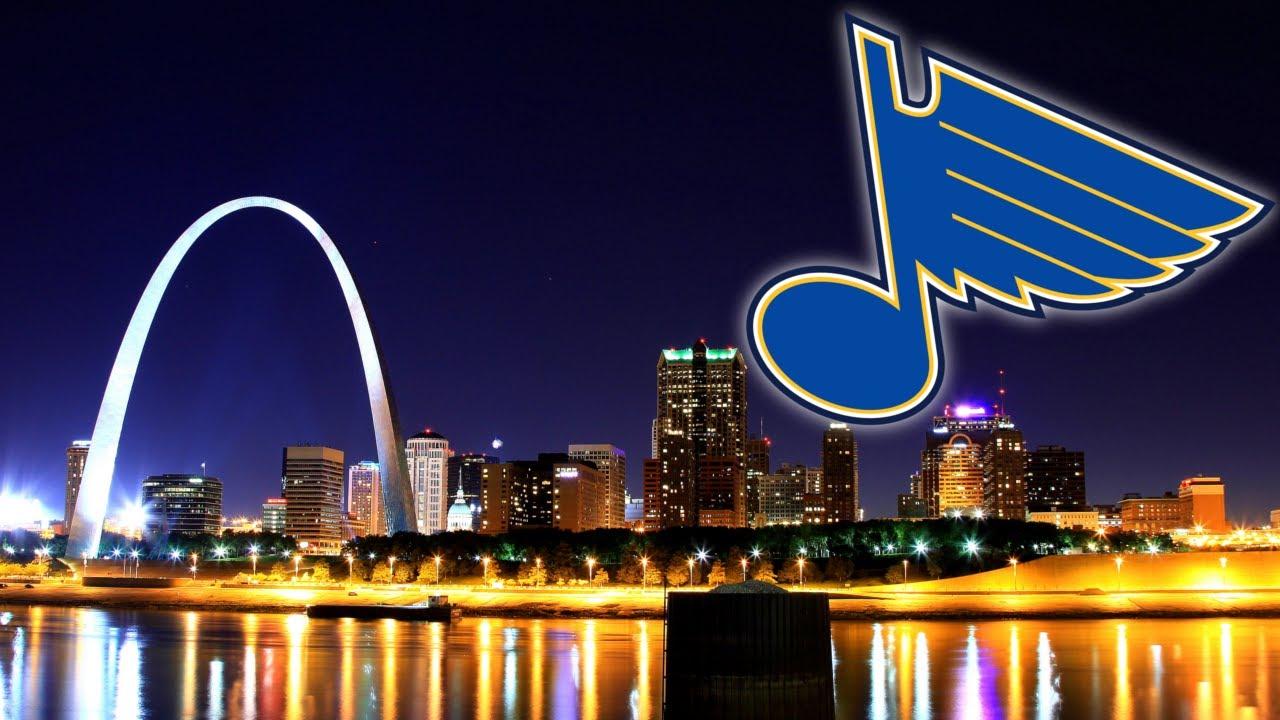 NHL Speed Art St Louis Blues Wallpaper 1280x720