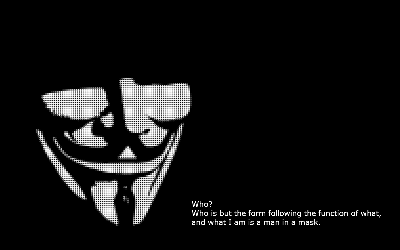 Free Download V For Vendetta Wallpapers 1280x800 For Your