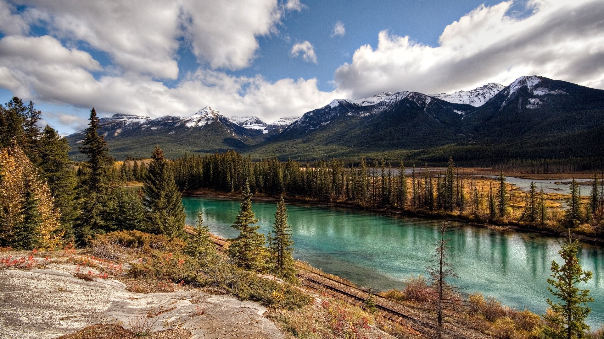 Download Banff National Park Canada wallpaper 1920x1080