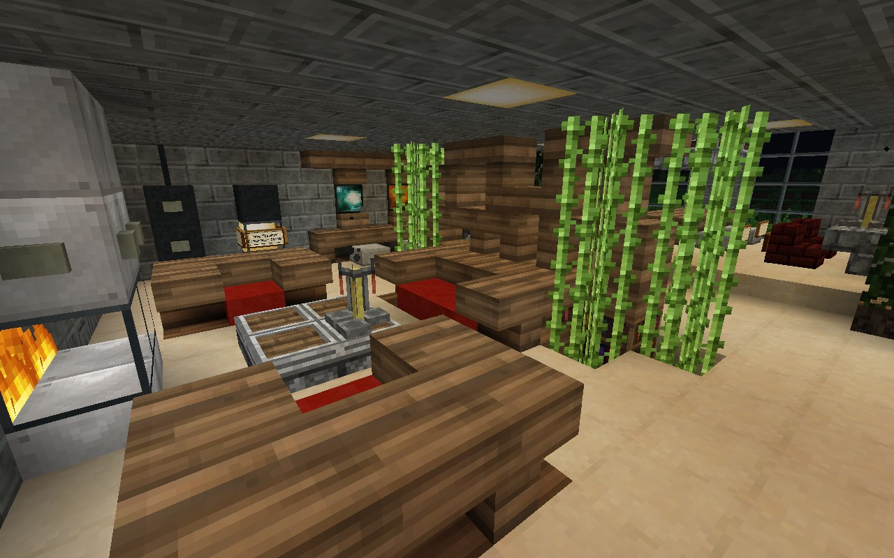 Minecraft Living Room Gallery Hd Wallpaper   1280x800 iWallHD 1280x800