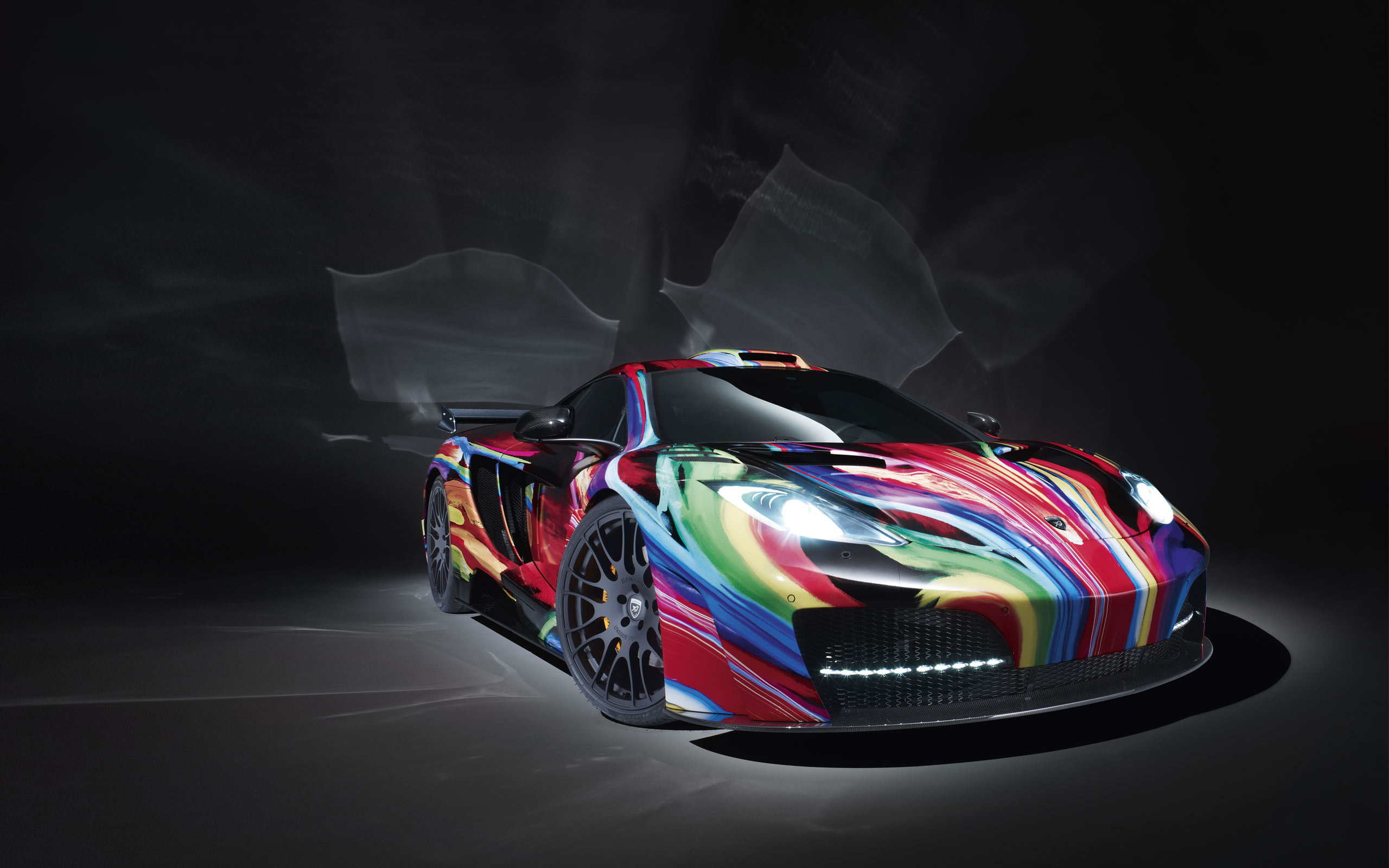 McLaren MP4 12C Art Car Hamann Wallpapers HD Wallpapers 2560x1600