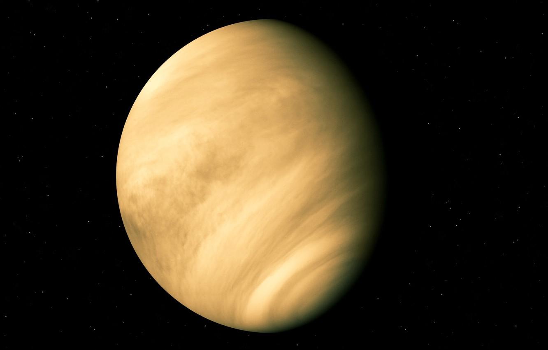Wallpaper stars Venus planet Venus evening star solar system 1332x850