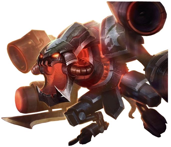 Download Chogath Battlecast Render by BladeIIII 686x590