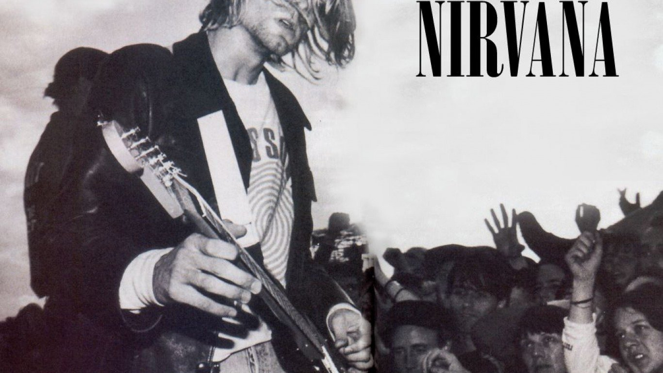 The Best Nirvana Wallpapers 1366x768