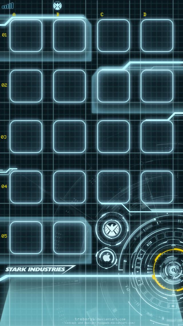 Stark Industries Iphone Wallpaper Stark industries wallpaper 640x1136