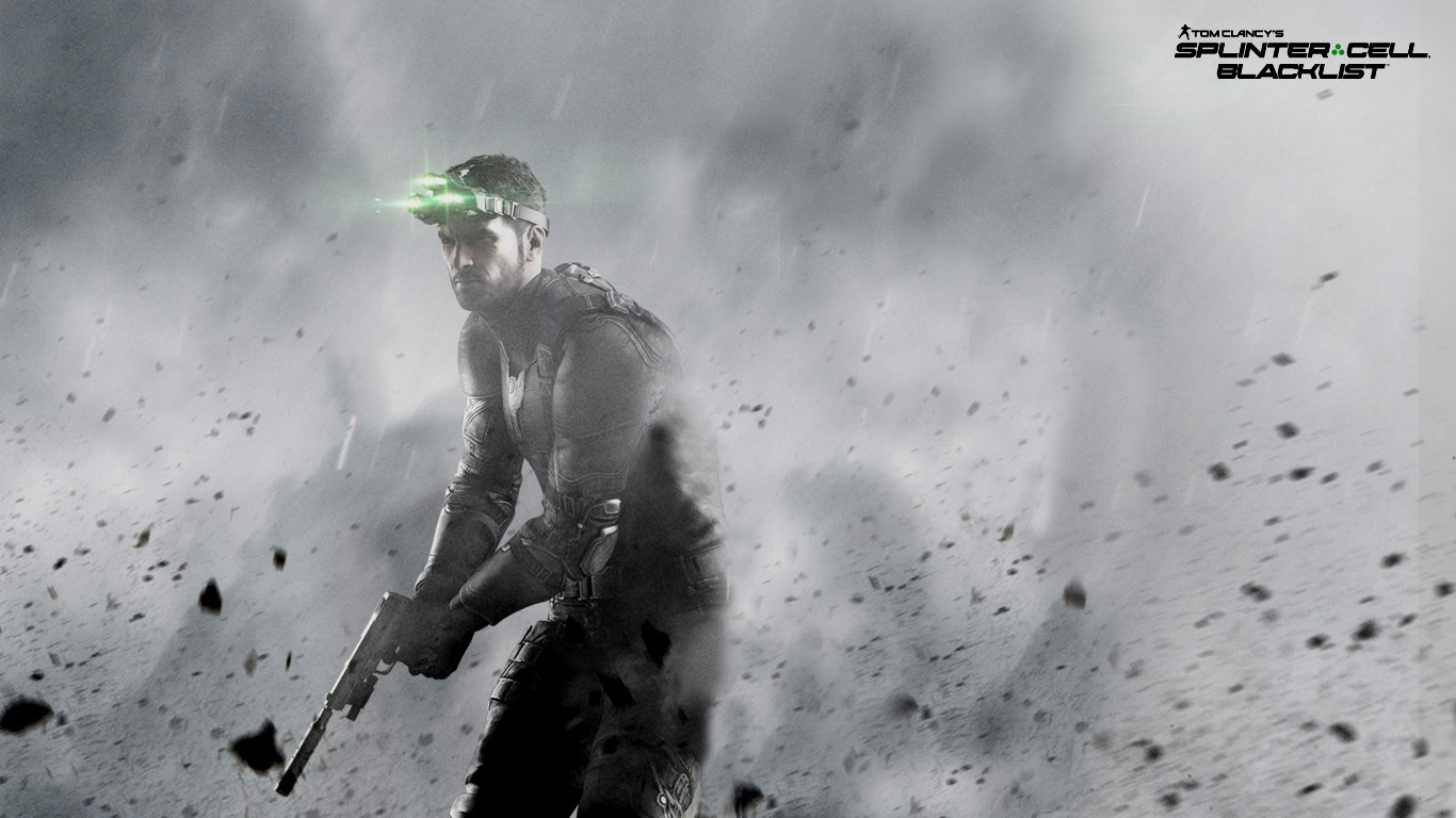 Splinter Cell Blacklist Ash Wallpaper by PaulPainkiller on deviantART 1366x768