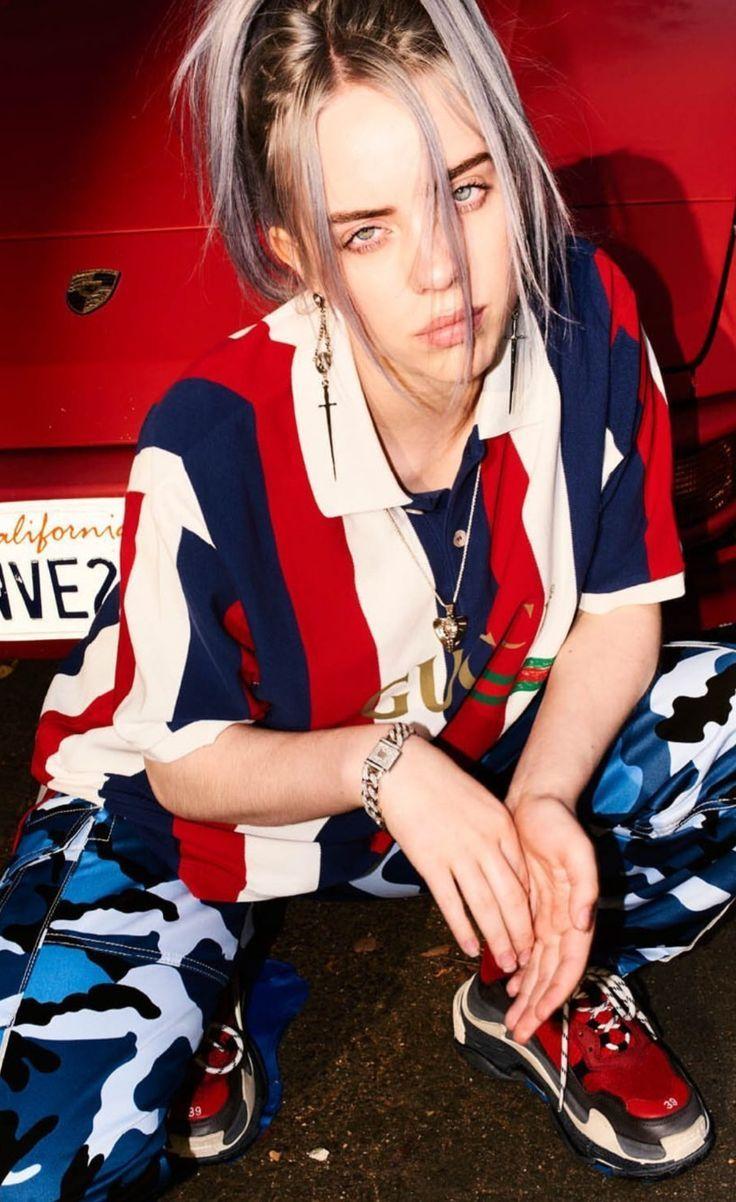 Billie Eilish   Billie Eilish   wallpapers 4k iphone 736x1202