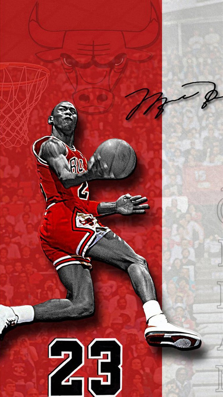 Michael Jordan IPhone 6 Wallpaper 750x1334