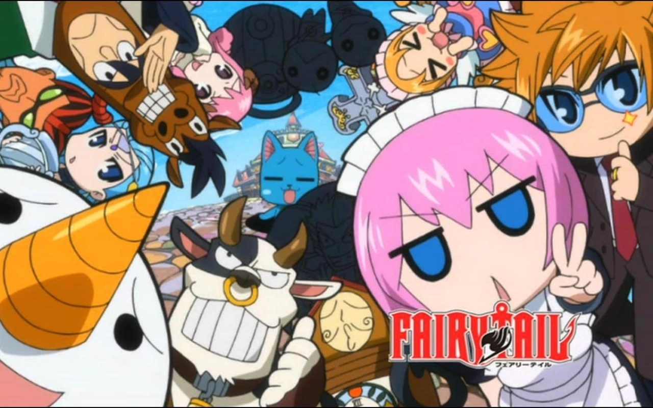 Fairy Tail Wallpaper Background PC 1280x800