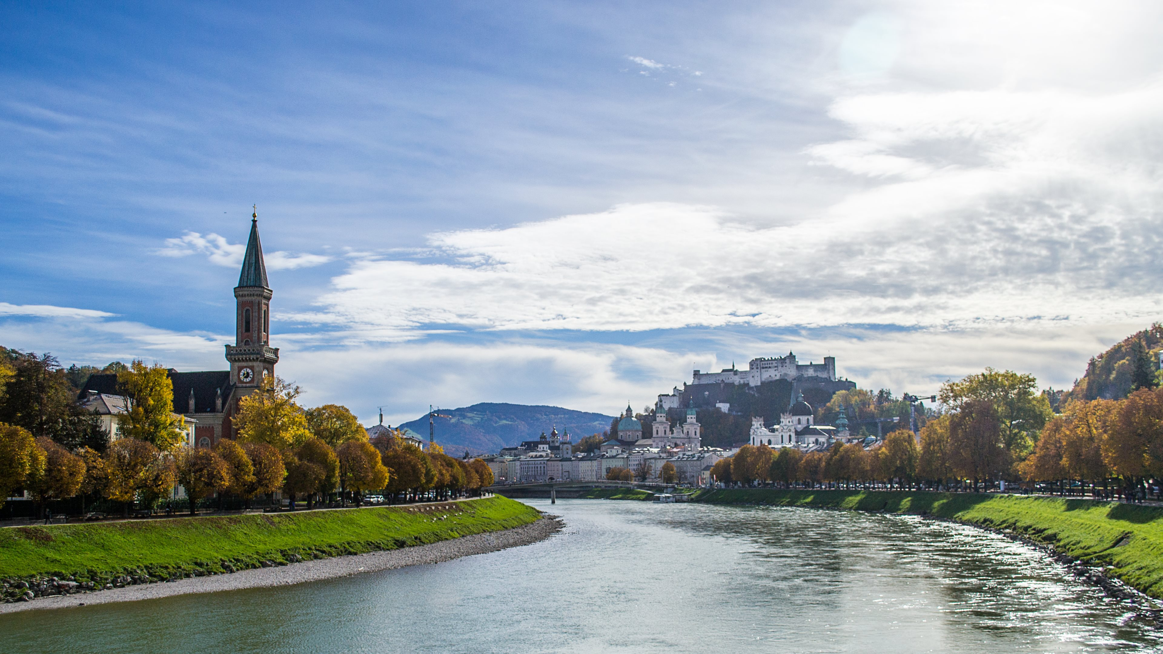 Travel Austria Salzburg Wallpaper