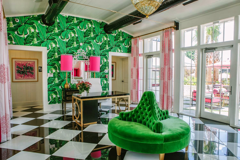 floors brazilliance carleton varney wallpaper palm pink schumacherjpg 1500x1000