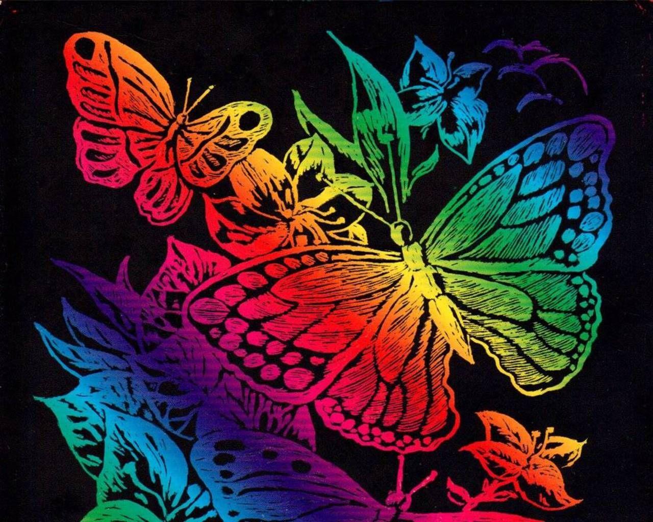 Butterflies Rainbow Butterfly Wallpaper Butterfly Migration 1280x1024