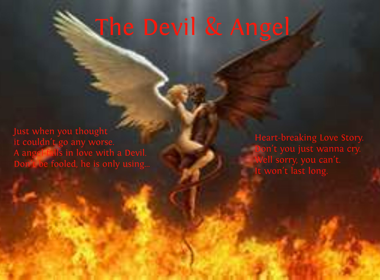 The Devil Angel by captainsapphirejems Publish with Glogster 1300x960